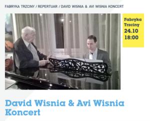 David Wisnia & Avi WIsnia Koncert 24.10 1800