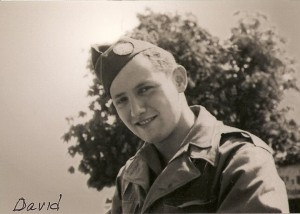 David Wisnia army portrait 1945